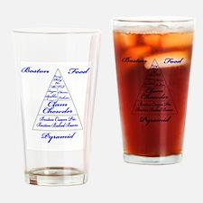 Boston Food Pyramid Pint Glass