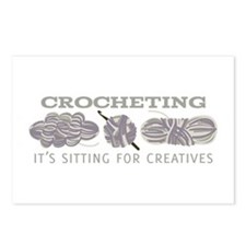 Crocheting Postcards (Package of 8)
