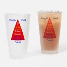Georgia Food Pyramid Pint Glass