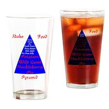 Idaho Food Pyramid Drinking Glass
