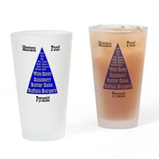 Montana Food Pyramid Drinking Glass
