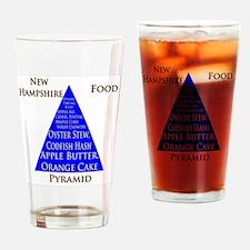 New Hampshire Food Pyramid Pint Glass