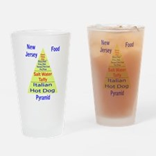 New Jersey Food Pyramid Pint Glass