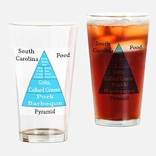 South Carolina Food Pyramid Pint Glass