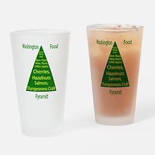 Washington Food Pyramid Pint Glass
