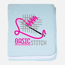 Basic Stitch baby blanket
