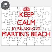 Keep calm by relaxing at Martin'S Beach Cal Puzzle