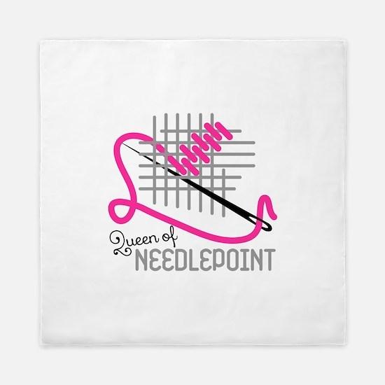 Queen Of Needle Point Queen Duvet