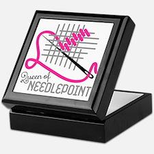 Queen Of Needle Point Keepsake Box