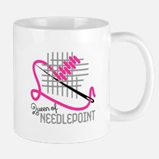 Queen Of Needle Point Mugs