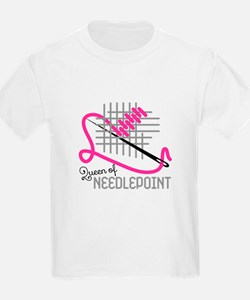 Queen Of Needle Point T-Shirt