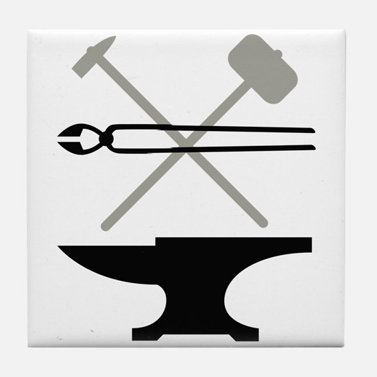 Blacksmith Tile Coaster