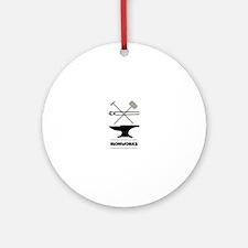 Ironworks Round Ornament