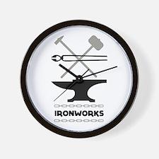 Ironworks Wall Clock