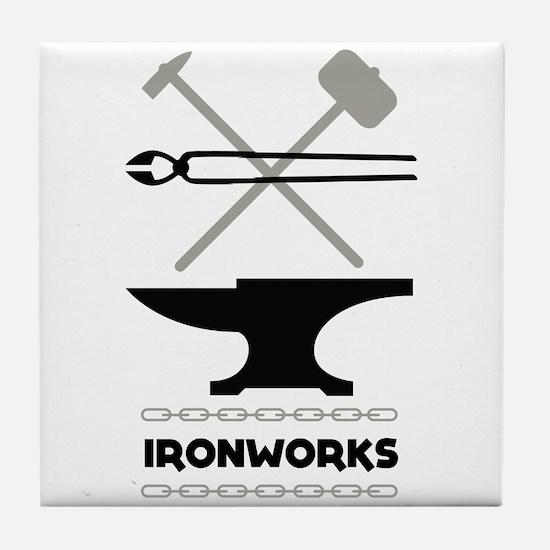 Ironworks Tile Coaster