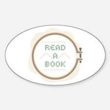 Read A Book Decal