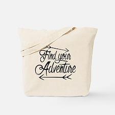 Find Adventure Tote Bag