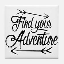 Find Adventure Tile Coaster