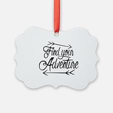 Find Adventure Ornament