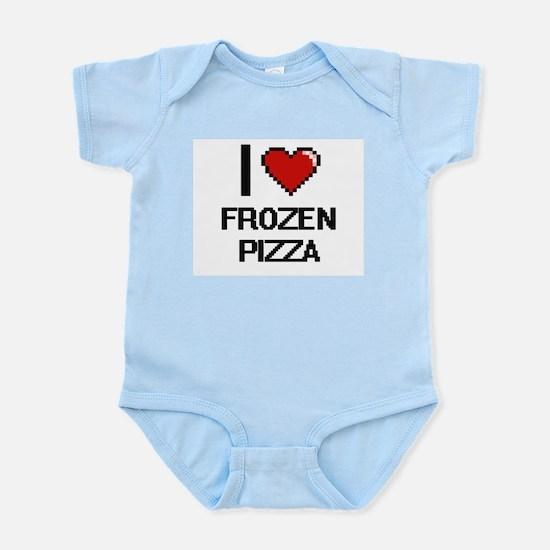 I love Frozen Pizza digital design Body Suit