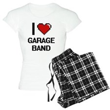 I love Garage Band digital Pajamas