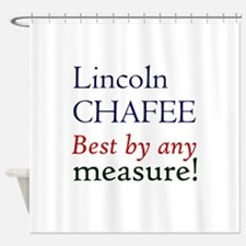 Chafee - by any measure Shower Curtain