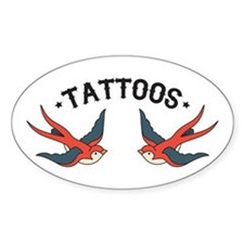 Tattoo Sparrows Decal