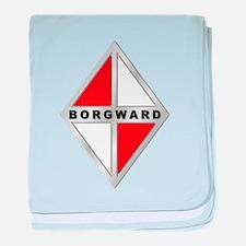 Defunct Logo baby blanket