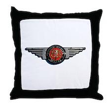 Defunct Logo Throw Pillow