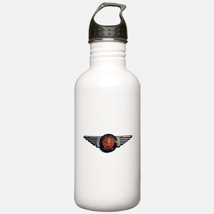 Defunct Logo Water Bottle