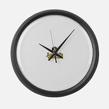 Defunct Logo Large Wall Clock