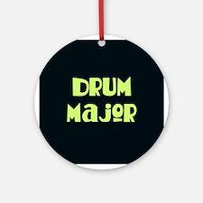 Drum Major Christmas Ornament