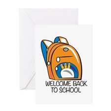 Welcome Back Greeting Cards