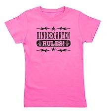 Kindergarten Rules Girl's Tee