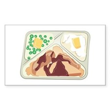 TV Dinner Decal