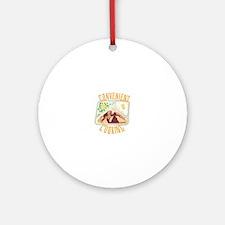 Convenient Cooking Round Ornament