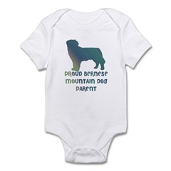 Proud Bernese Mountain Dog Pa Infant Bodysuit