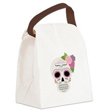 Day Of The Dead Canvas Lunch Bag
