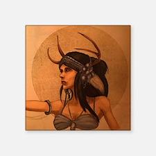"""Goddess Square Sticker 3"""" x 3"""""""