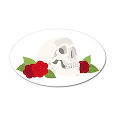 Hamlet Skull Wall Decal