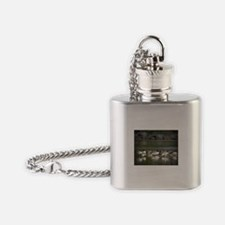 Canadian Geese Flask Necklace