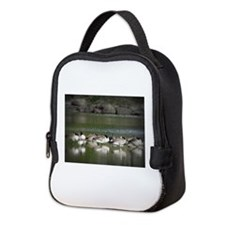 Canadian Geese Neoprene Lunch Bag