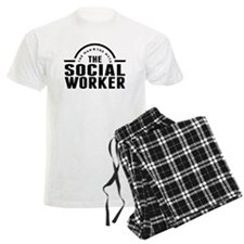 The Man The Myth The Social Worker Pajamas