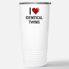 I love Identical Twins Stainless Steel Travel Mug
