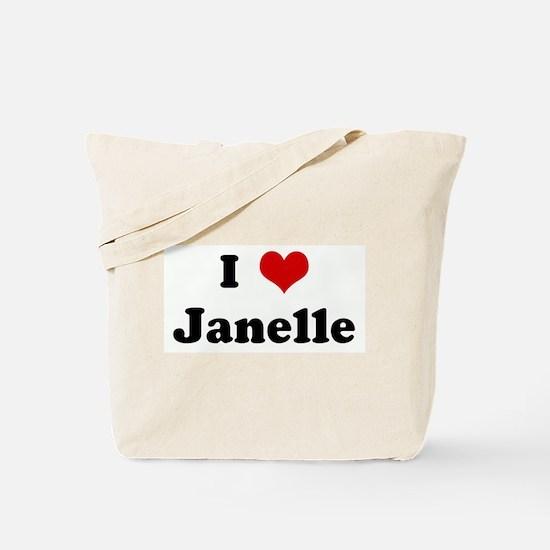 I Love Janelle Tote Bag