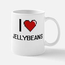 I love Jellybeans digital design Mugs
