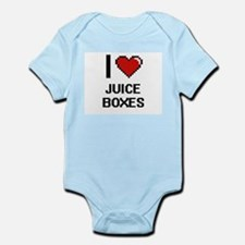 I love Juice Boxes digital design Body Suit
