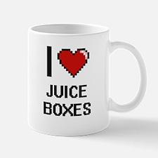 I love Juice Boxes digital design Mugs