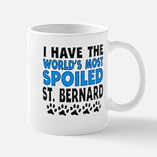 Worlds Most Spoiled St. Bernard Mugs