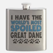 Worlds Most Spoiled Great Dane Flask